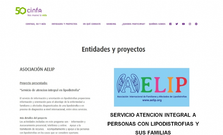 AELIP encourages to vote its project Integral Attention in lipodystrophies in the initiative