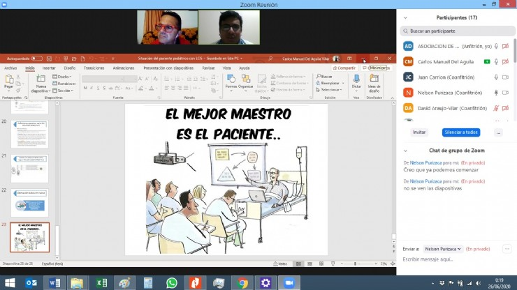 AELIP brings together professionals and students from the Peruvian health sector in a training webinar on Lipodystrophies