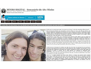 María Fernanda de Amorim, AELIP Representative for Portugal and Mother of a Girl with Lipodystrophy, Gives an Interview for an Online Portuguese Publication About Living with the Syndrome.