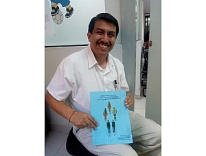 The Head of the Genetics Department at the National Institute of Child Health in Lima (Peru) Receives a Copy of the Practical Guide for the Diagnosis and Treatment of Rare Lipodystrophies