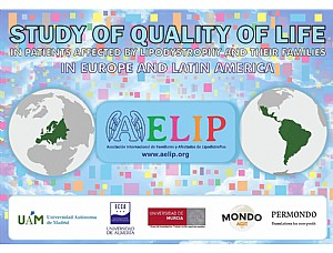 AELIP will launch the first quality of life study in patients with lipodystrophy at an international level next Monday June 22