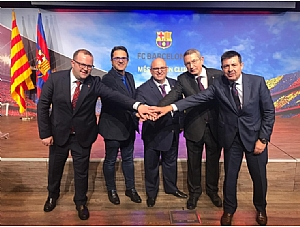 The Coordinator of the Supporters Clubs World Confederation at FC Barcelona Will Donate €5,000 to the International Cooperation Project That AELIP Is Developing with People Living with Lipodystrophy in Piura (Peru)