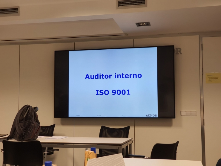 CURSO AUDITOR INTERNO ISO 9001