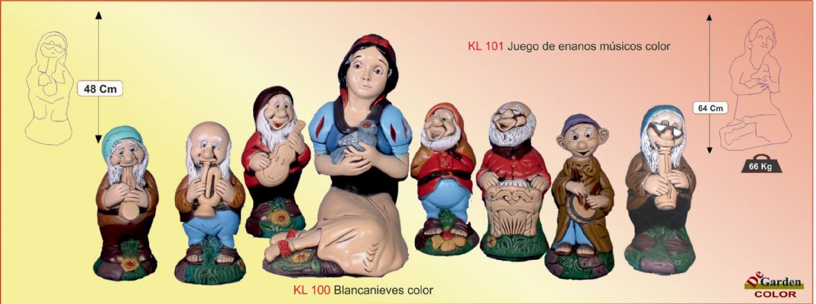 Blancanieves color
