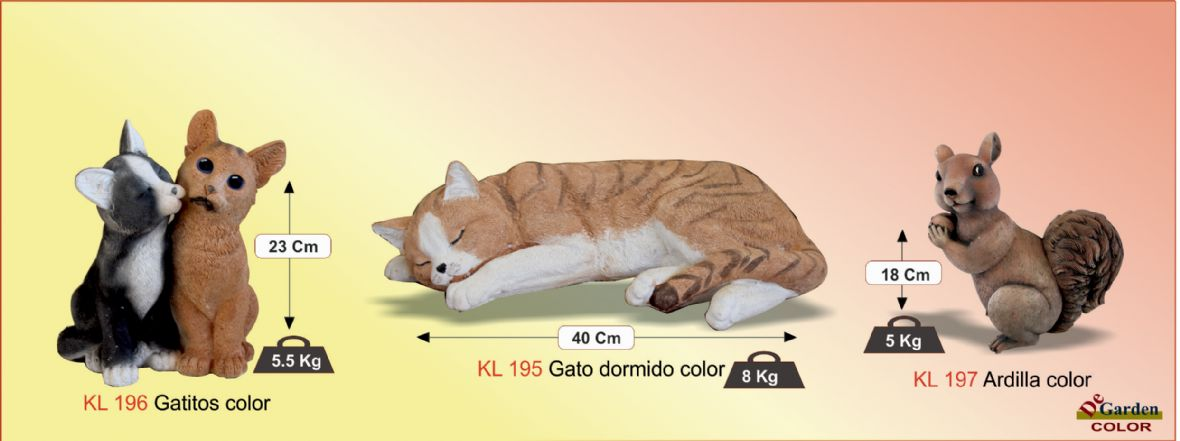 Gatos color