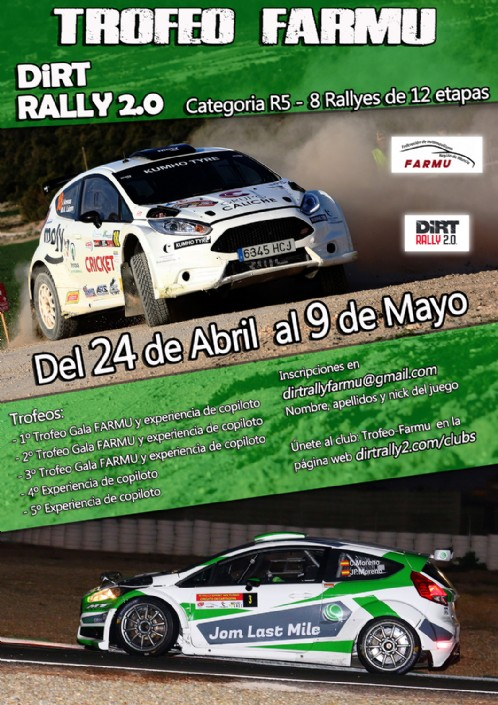 Trofeo FARMU DiRT 2.0