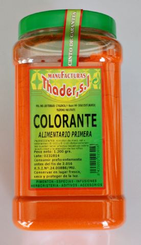 Colorante alimentario