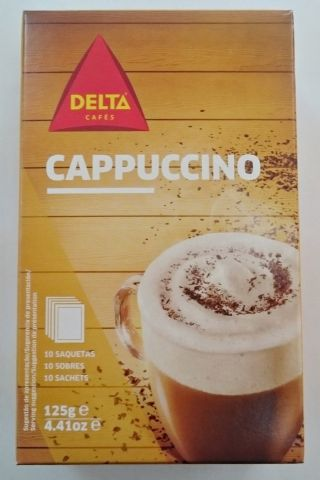 Capuchino soluble