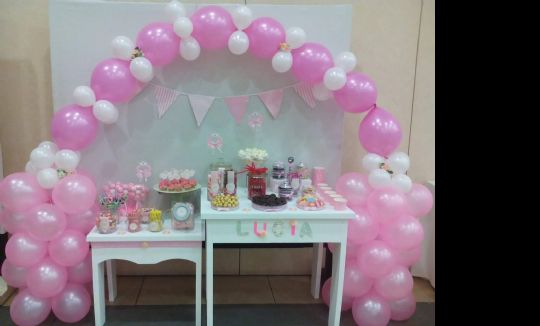 Candy bar y mesas dulces