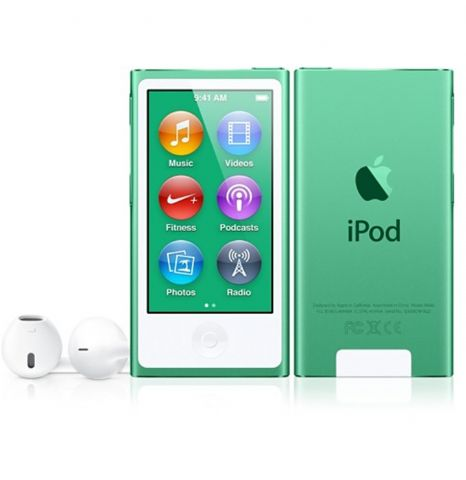 Apple iPod nano 16Gb verde