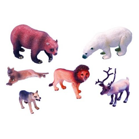 SET ANIMALES PLASTICO 2