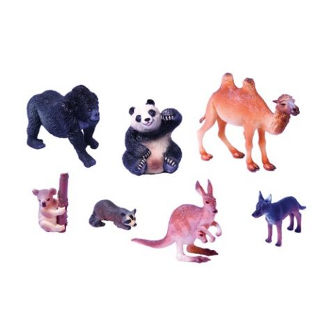 SET ANIMALES PLASTICO 3