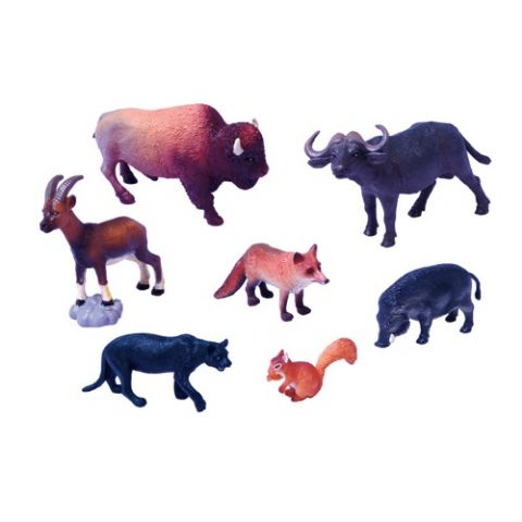 SET ANIMALES PLASTICO 6