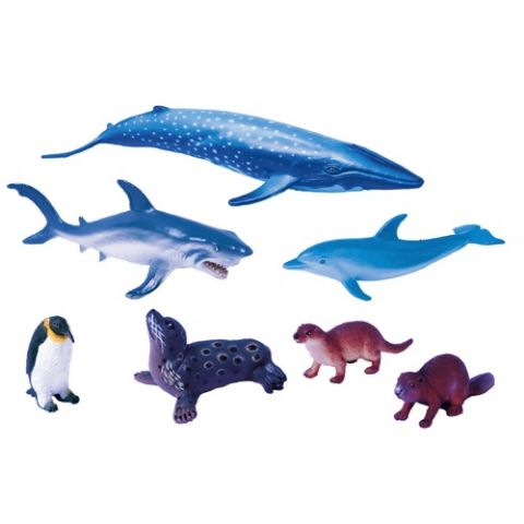 SET ANIMALES PLASTICO 9