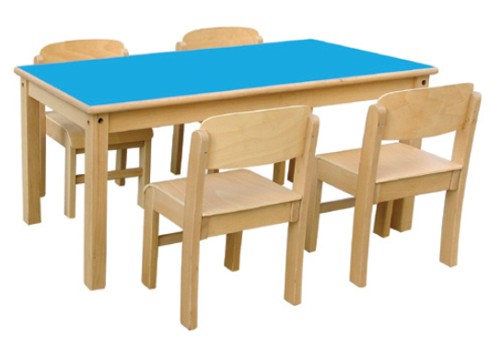 Mesa guarderia for Mesa y silla infantil