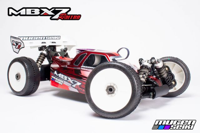 COCHE 1/8 OFF ROAD MBX7R MUGEN