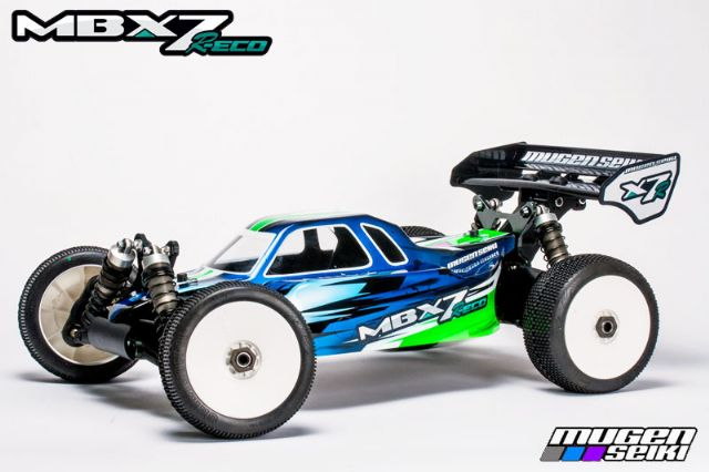 COCHE 1/8 OFF ROAD MBX7R ECO MUGEN
