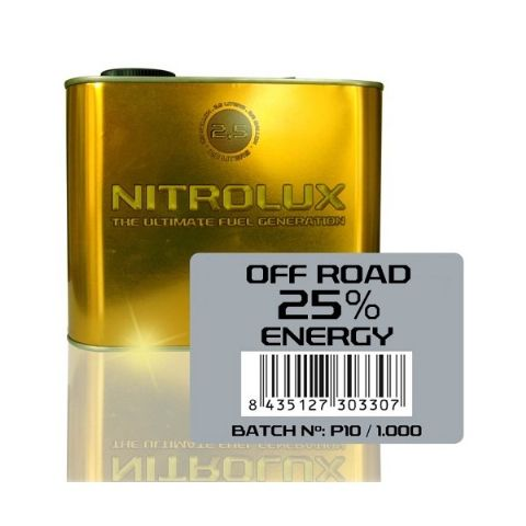 OFF-ROAD 25% ENERGY 2,5 L.