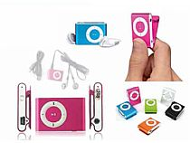 REF-30126 MP3 PLAYER CON CLIP + AURICULARES + CABLE USB EN CAJA DE REGALO	3,89 EUROS