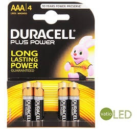 PILA DURACELL LR03 PLUS POWER