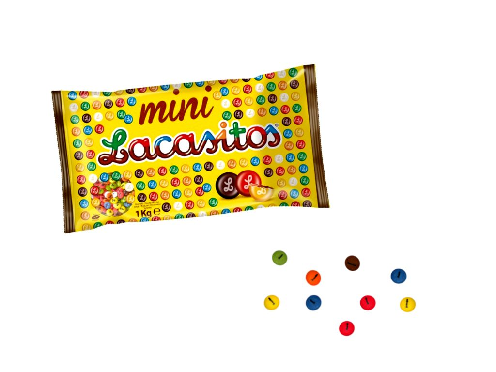 Mini lacasitos de chocolate (1 kg.)