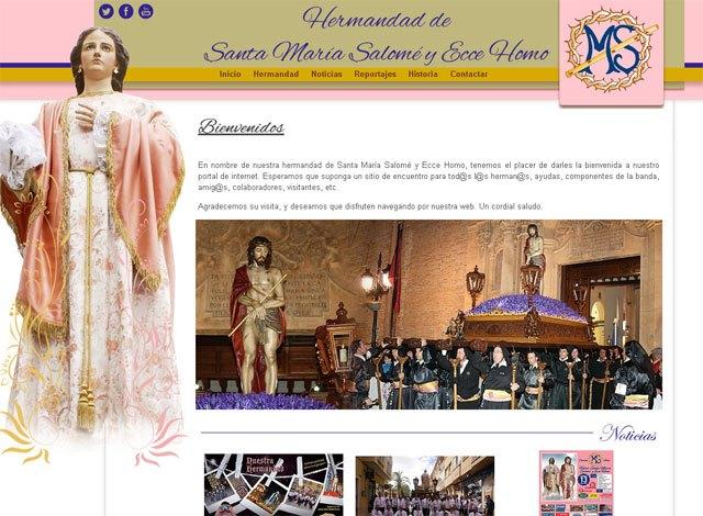 La Hermandad de Santa María Salomé y Ecce Homo ya tiene web