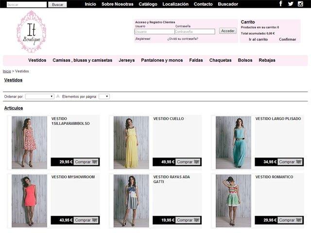 La moda más actual y al mejor precio en itboutique.es