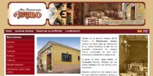 Restaurante Amaro cambia su antigua página web a una