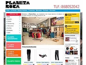 Planeta Roca estrena su tienda en Internet, que ha sido desarrollada con Superweb