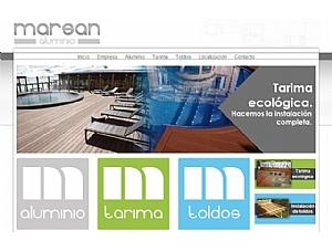 Carpintería metálica, tarimas, toldos... En la nueva página web de Marsan Aluminios encontrarás lo que necesitas