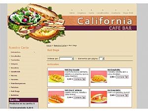Los totaneros ya pueden hacer sus pedidos a Café-Bar California desde su ordenador o smartphone