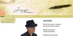 El escritor murciano José Muñoz estrena web