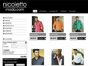 Descubre la nueva Tienda Online de Nicoletto Moda