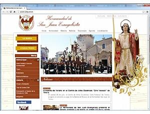 La Hermandad de San Juan Evangelista de Totana ya está en Internet